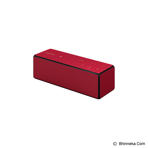 SONY Portable Wireless [SRS-X33] - Red - Speaker Bluetooth & Wireless